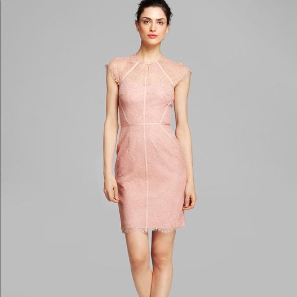9e619700 Monique Lhuillier Dresses | Ml Lace Capsleeve Dress | Poshmark